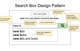 Search Box UX Design Pattern Guidelines