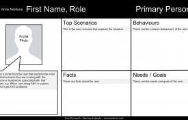 Persona Template Download For User Research
